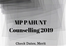 MP PAHUNT Counselling 2019