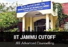 IIT Jammu Cutoff
