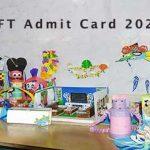 NIFT Admit Card 2020