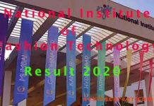 NIFT Result 2020