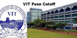 VIT Pune Cutoff