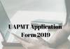 UAPMT Application Form 2019