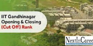 IIT Gandhinagar Cutoff