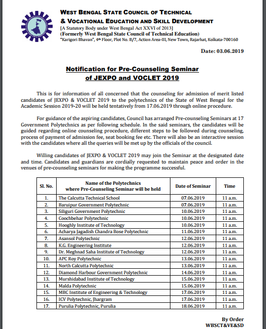 VOCLET Counselling 2019