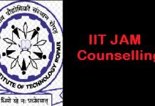 IIT JAM Counselling