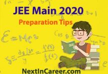 JEE Main Preparation Tips 2020