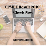 CPMEE Result 2019 Check Now