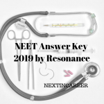 NEET Answer Key 2019 by Resonance