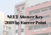 NEET Answer Key 2019 by Career-Point