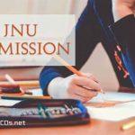 JNU Admission 2020