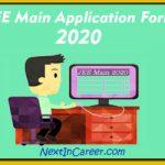 JEE Main Application Form 2020