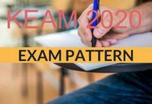 KEAM 2020 Exam Pattern
