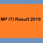 MP ITI Result 2019