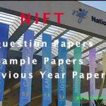 NIFT Question Paper 2020