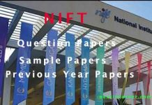 NIFT Question Paper 2020