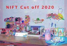 NIFT Cut off 2020