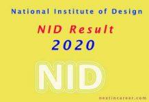 NID Result 2020