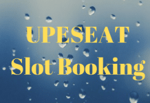 UPESEAT Slot Booking