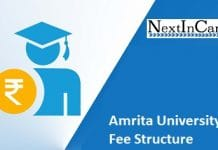 Amrita University Fee Structure