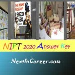 NIFT Answer Key 2020