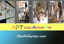 NIFT Answer Key 2020
