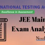 JEE Main Exam Analysis