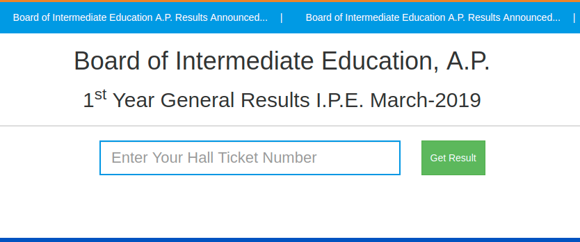 AP Intermediate Result 2019
