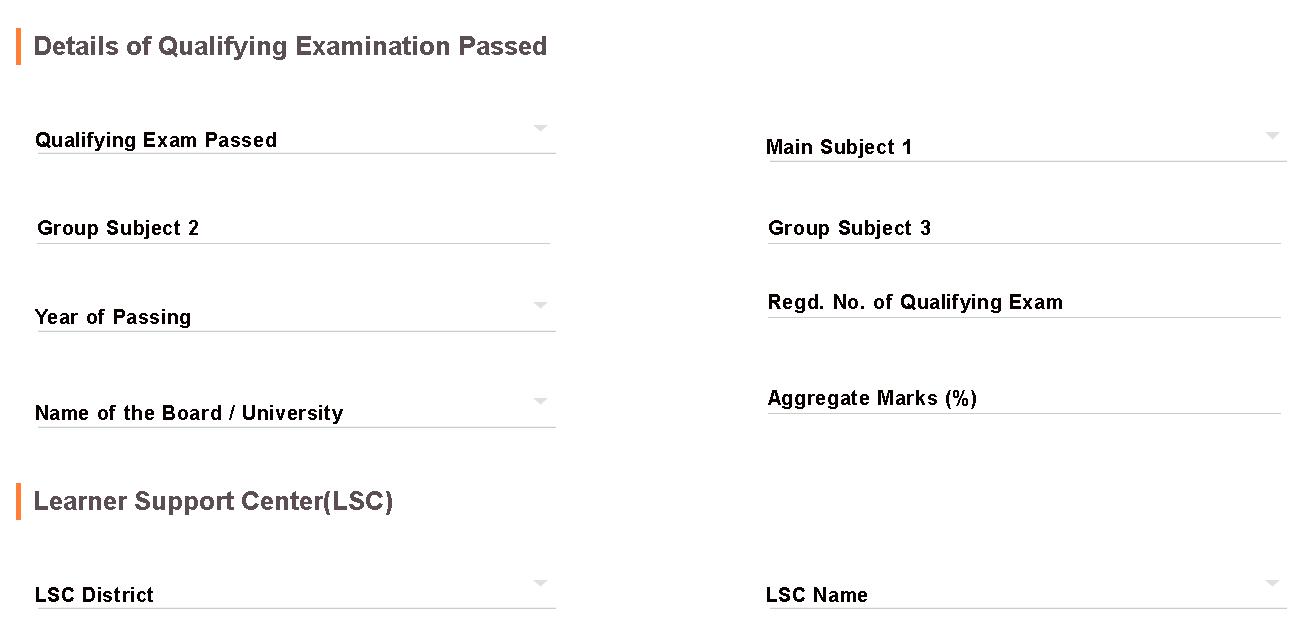 ANUCDE Admission Form 2