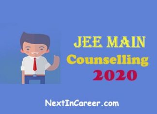 JEE Main Counselling 2020
