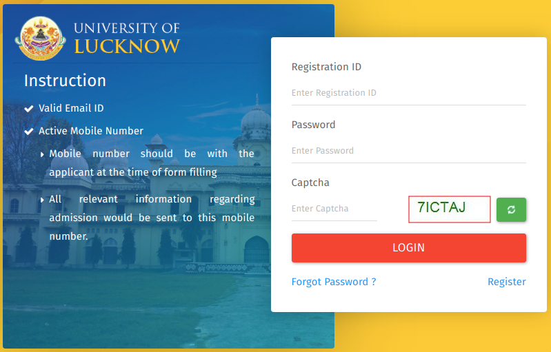 Download Lucknow University Admit Card 2019