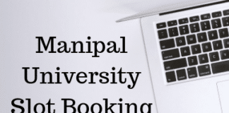 Manipal University Slot Booking