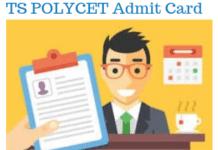 TS POLYCET Admit Card