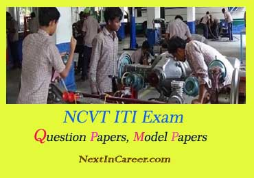ITI Exam Question Paper 2019 Electrician, Fitter: NCVT ITI