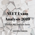 NEET Exam Analysis 2019