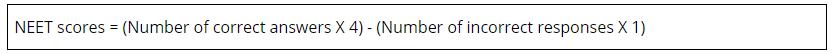 Evaluation of NEET 2019 Scores