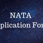 NATA Application Form