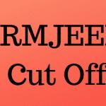 SRMJEEE Cut Off