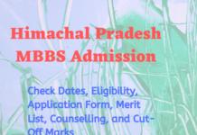 Himachal Pradesh MBBS Admission