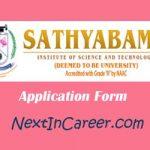 Sathyabama University Application Form