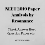 NEET 2019 Paper Analysis by Resonance