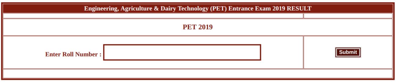 CG PET 2019 Result Login