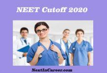 NEET 2019 Cutoff