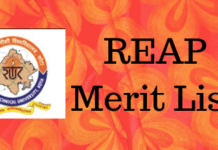 REAP Merit List