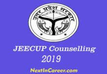 JEECUP Counselling 2019