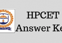 HPCET Answer Key