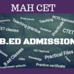 MAH B.ED CET