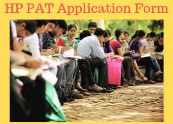 HP PAT Application Form 2020, Last date to Apply