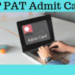 HP PAT Admit Card