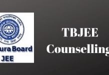 TBJEE Counselling