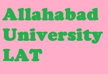 Allahabad University LAT